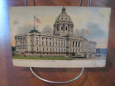 "1906 ""Minnesota State Capitol Building"" Postcard"