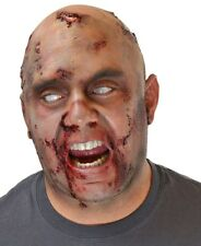Zombie Latex Bald Cap Headpiece FX Prosthetic Halloween Adults Mens Appliance