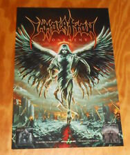Immolation Atonement Poster Original Promo 11x17