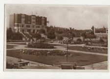 Sunk Gardens North Parade Skegness RP Postcard 323a