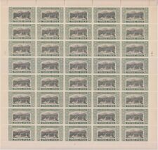 INDIA SORUTH STATE 1929, 3P SG49 MNH COMPLETE SHEET OF 40 STAMPS.