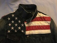 Denim Jacket (S) Stars And Stripes US Flag