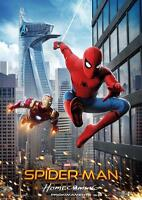 SPIDERMAN & IRON MAN HOMECOMING POSTER Art Photo Picture Print Poster A4 A3