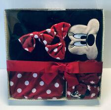 Disney Minnie Maus Wärmflasche Damen Socken Schlafmaske Geschenk Set