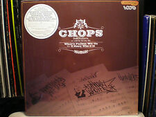 """CHOPS - WHAT'S F*CKIN' WIT US / U KNOW WHO IT IS (12"""") 2003!!  RARE!!  RAEKWON!!"""