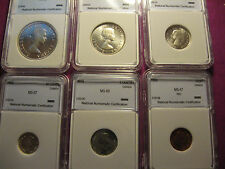 1958 Canada 6 coin set (mint state)