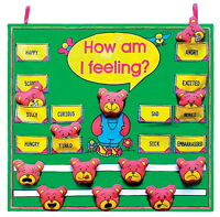 Get Ready for Kids How Am I Feeling? Fabric Chart