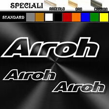 set adesivi sticker AIROH prespaziato,auto,decal tuning moto,casco 19,5 / 9,5cm