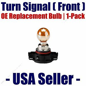 Front Turn Signal Light Bulb 1pk - Fits Listed BMW Vehicles - PSY24WSV