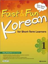 Fast & Fun Korean for Short Term Learners 1 w/ MP3CD  강승혜 저 | 다락원