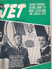 Jet Magazine 3/19/1970 Blacks Make Cleveland Safer B.O Davis White Bigots Busing