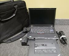 "Lenovo T410 Laptop 14"" i5-M540 i5 4GB 320GB Win 7 Docking Station Adapter Bag"