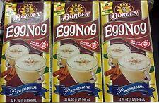 Borden Premium EggNog  - 3pk - 96 Fl oz