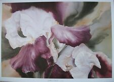 GODDESS OF MIRACLES by JEANNE BONINE Watercolor Art Lithograph Print - Iris