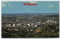 VIEW OF HOLLYWOOD,CALIFORNIA POSTCARD