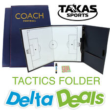Football Coach Tactics Folder Coaching Clipboard Magnetic Soccer Ball Goal Board
