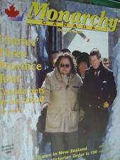 Monarchy Canada Spring/Summer 1996 Magazine- Charles In Ontario/Manitoba/New Bru