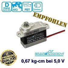 Ultra Micro Servo Digital Metall 3g Höhe Präzision Blue Arrow D03018MG 130X G245