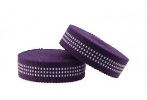 SAMURAI BAR TAPE TONO - Lenkerband Lenkertape Fahrradband purple-white lila-weiß