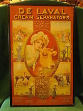 De LeVac Cream Seperator metal repro sign
