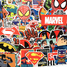 NEW 50 Pcs/Lot Stickers For MARVEL Super Hero DC For Car Laptops Notebook Decal