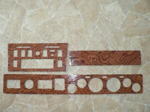 TVR Tasmin (Wedge) New Full Real Wood Dash Panels