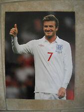 David Beckham Color Soccer Futbol 11x14 Photo