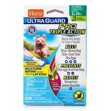 Hartz Ultra Guard Pro FLEA & TICK DROPS for Dogs & Puppies 5-14 LBS Remedies