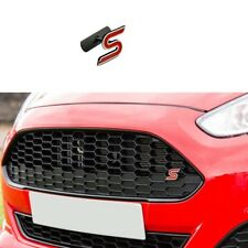 Red Ford Fiesta Zetec S Grill Badge Focus Mondeo Ecoboost Grille Front Emblem