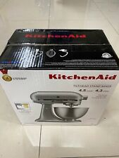 Brand New KitchenAid 4.5-Quart 10-Speed Silver Stand Mixer