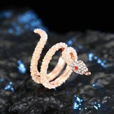 Gothic Adjustable Vintage Rings Finger Women Ring Snake Jewelry Punk Fashion Man