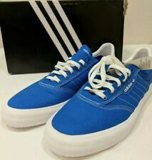 Adidas Mens 3MC B22713 Skateboard Shoes Blue/White Size 11 NIB Retail $65