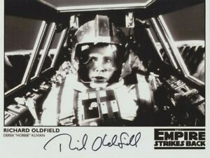 """Richard Oldfield In Person signed 10"""" x 8"""" photo - Hobbie - Star Wars - P269"""