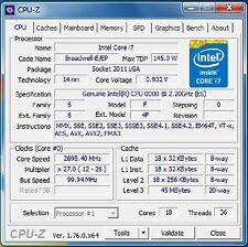 Intel Xeon E5-2697 v4 ES QH26 2.2GHz 18C LGA2011-3 Compatible with X99 i7-6950X(
