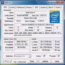 Intel Xeon E5-2697 v4 ES LGA2011-3 18C Compatible with X99 i7-6850K 6900K 6950X