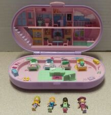 1992 Polly Pocket Stampin' School Set COMPLETE Mint Condition w/figures