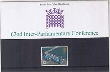 GB Presentation Pack No. 74 Parliamentary Conference 1975 MNH 10% OFF FOR ANY 5+