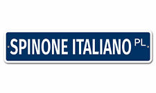 "7507 Ss Spinone Italiano 4"" x 18"" Novelty Street Sign Aluminum"