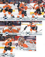 2019-20 Upper Deck Series 2 Philadelphia Flyers Team Set of 7 Cards