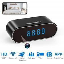 Hd 1080P Wifi Alarm Clock Camera Home Security Surveillance Motion Sensor Dvr