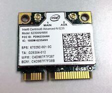 Intel Network 6235ANHMW Wireless WiFi Centrino Bluetooth 4.0 Advanced-N 6235