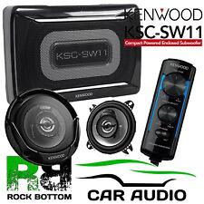 Landrover Defender 110 Kenwood Amplified UnderSeat Sub Box & Dash Car Speakers