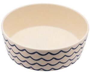 Beco Pets Bamboo Printed Bowl Large Save the Waves, Premium Seller,Fast Dispatch