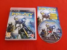 MX VS ATV ALIVE MOTOCROSS PLAYSTATION 3 PS3 SONY PAL VF COMPLET