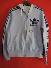 Veste ADIDAS à capuche Etiquette Bleu vintage Ventex Trefoil Jacket France - M