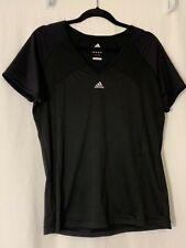 Women's Adidas Clima 365 Black Short Sleeve Athletic Shirt Size L