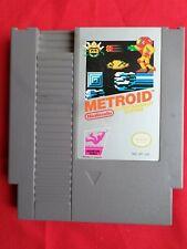 NES Metroid Nintendo Entertainment System NES Cartridge and Sleeve1985 Japan