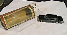 "VTG RUSSIAN CCCP - ZIL-115 1:43 DIECAST USSR BLACK CAR IN BOX 5"" - MINT"