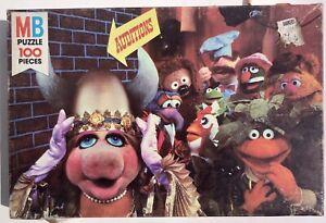Jim Henson's Muppet Jigsaw Puzzle Audition Vintage 1980 Milton Bradley 100 Piece