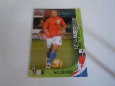 Carte panini - Euro 2008 - Autriche Suisse - N°091 - Deny De Zeeuw - Pays Bas